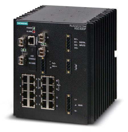 commutateur Ethernet administrable / 16 ports / gigabit / de niveau 2