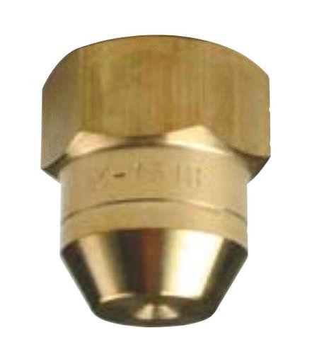 buse de pulvérisation / pour liquides / à cône plein / en acier inoxydable