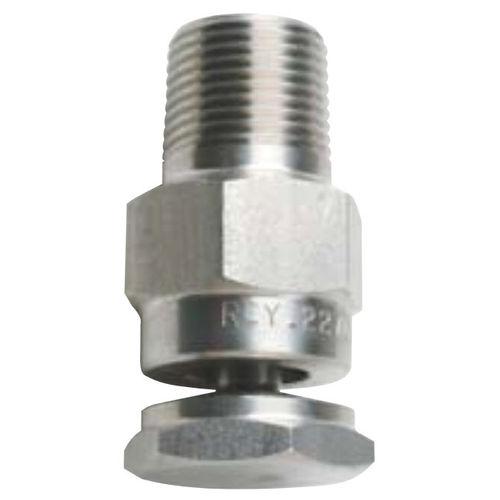buse de pulvérisation / pour eau / à cône creux / en acier inoxydable