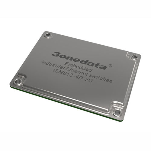 module commutateur Ethernet administrable / 8 ports / de niveau 2 / embarqué