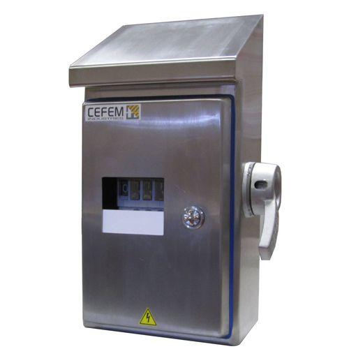 interrupteur à clé / multipolaire / 3 pôles / AC