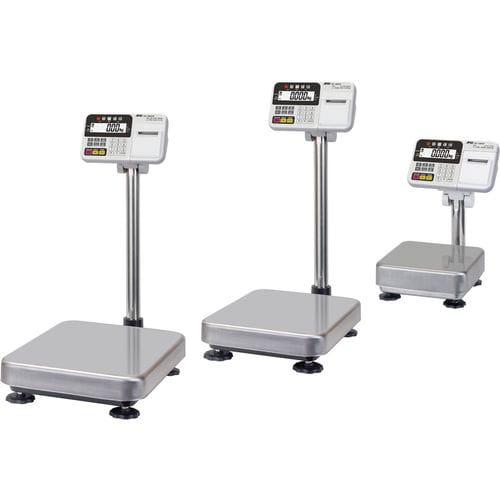 balance à plate-forme / multifonction / avec afficheur LCD / plateau en acier inoxydable