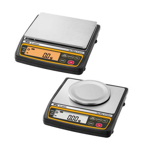 balance de précision / compacte / avec afficheur LCD / compacte