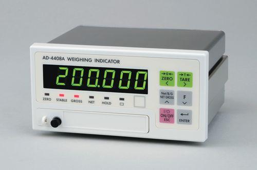 indicateur de pesage affichage à LED / encastrable / IP65