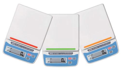balance benchtop / compacte / avec afficheur LCD / compacte
