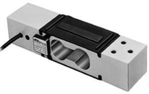 capteur de force à appui central / type poutre / compact / par jauge de contrainte