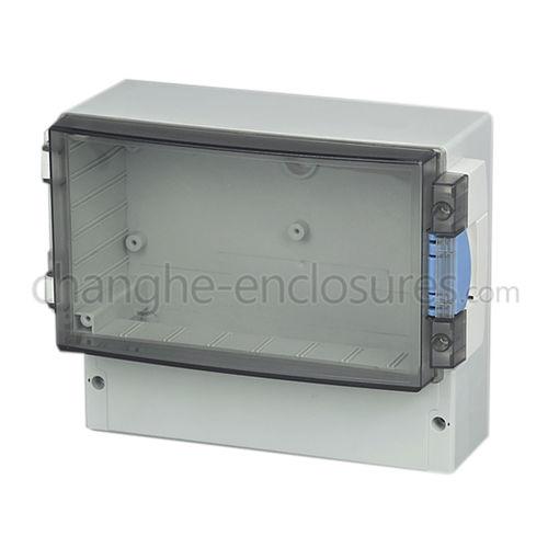boîte de dérivation murale / IP54 / en plastique / avec couvercle transparent