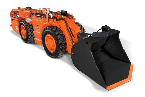 chargeuse à roues / rigide / pour mine souterraine / pour carrière