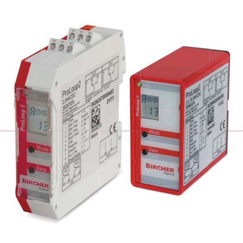 détecteur à boucle d'induction / compact / avec afficheur LCD / pour portail