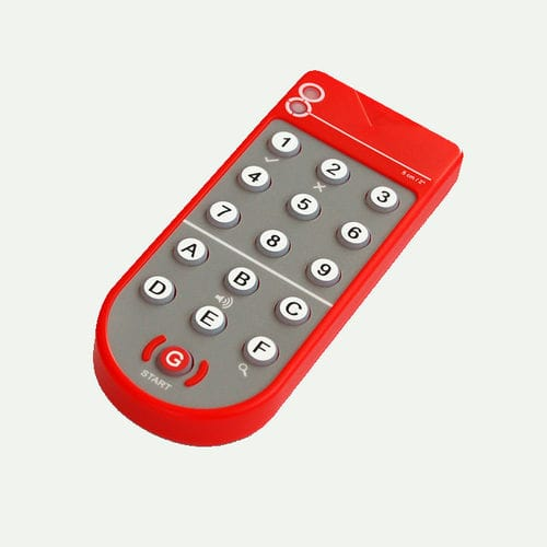 télécommande pour capteur / infrarouge / à boutons / bidirectionnelle