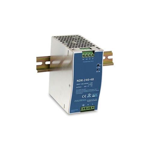 alimentation électrique AC/DC / pour applications industrielles / sur rail DIN / avec protection contre les courts-circuits
