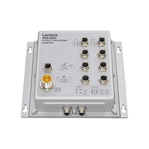 commutateur Ethernet non administrable / 10 ports / à liaison sans fil / mural