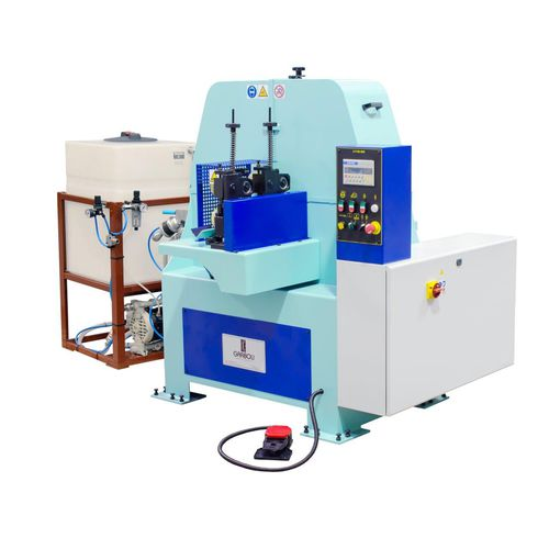 machine de polissage pour métaux / pour le verre / pour matières plastiques / de tube