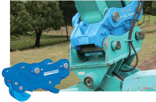 système d'attache rapide pour pelle hydraulique