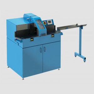 scie à ruban / pour PTFE / pour tuyau flexible / semi-automatique