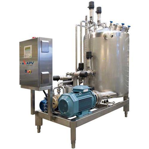 mélangeur rotor-stator / batch / de poudre / pour l'industrie chimique