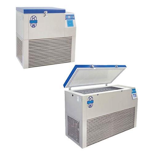 congélateur de laboratoire / pour plasma sanguin / ultra-basse température / coffre
