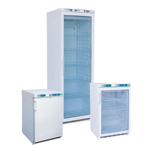 réfrigérateur vertical / de laboratoire / pour banques du sang / hermétique