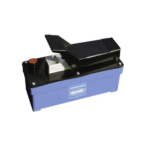 pompe hydraulique à pédale / pneumatique / à double effet / hydropneumatique