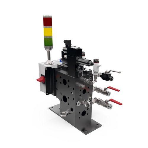 manifold de répartition / multivoie / d'isolement / hydraulique