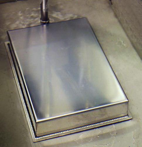 transducteur à ultrasons à plaque / immergeable / à balayage de fréquence / de nettoyage
