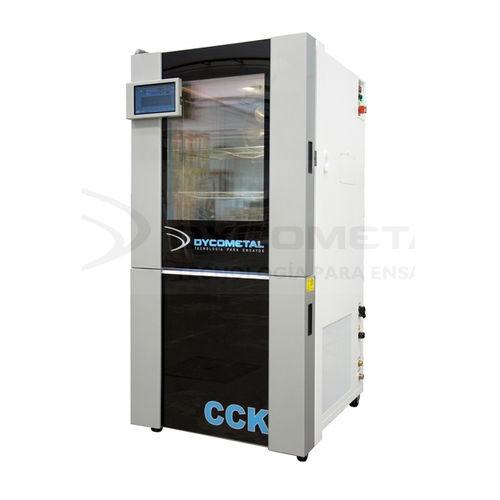 chambre d'essai climatique / automatique / de grande dimension / en inox