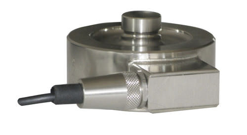 capteur de force en compression / type bouton / en acier inoxydable / de précision