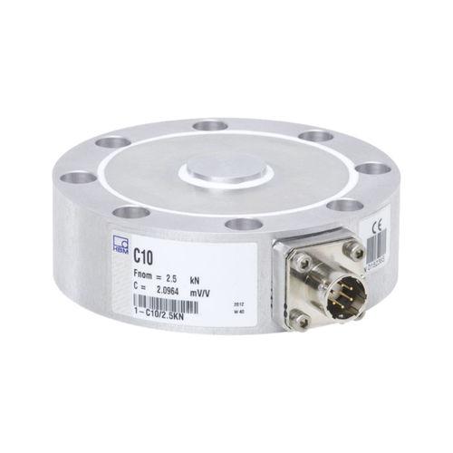 capteur de force en compression / à poutre plate / flexible / en acier inoxydable
