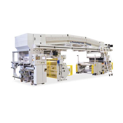machine à laminer sans solvant / automatisée