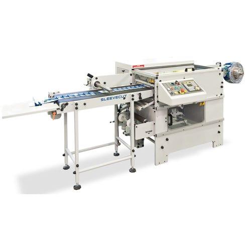machine de découpe de manchons thermorétractables