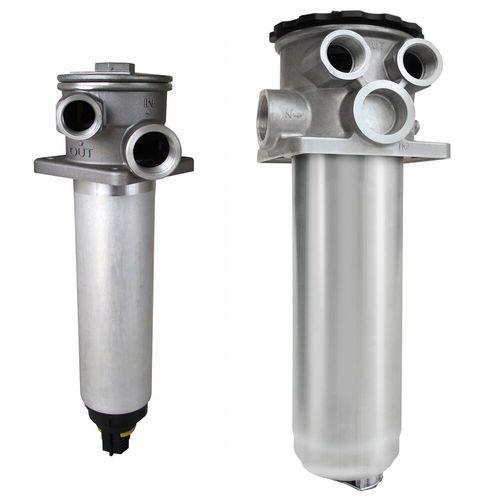 filtre hydraulique / à cartouche / à montage vertical / d'aspiration