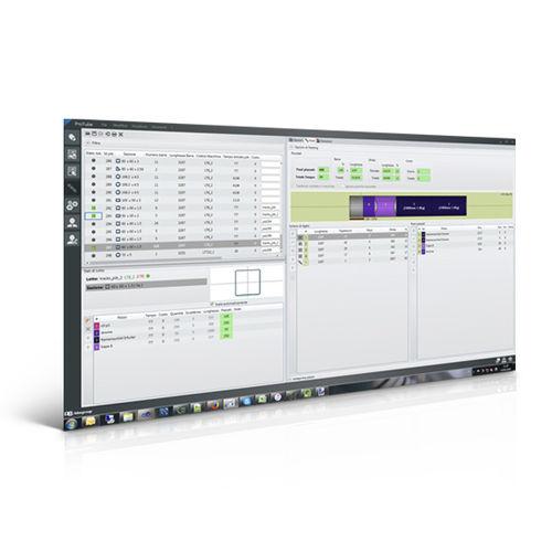 logiciel de gestion / de supervision / de machine / de production