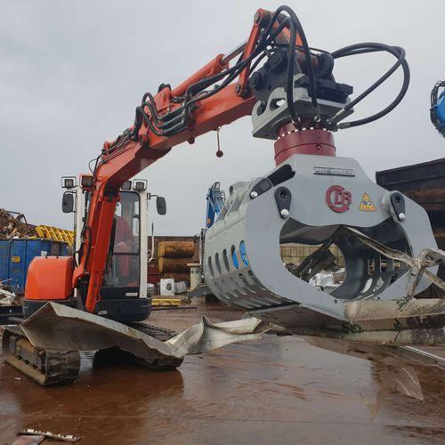 pince de démolition hydraulique
