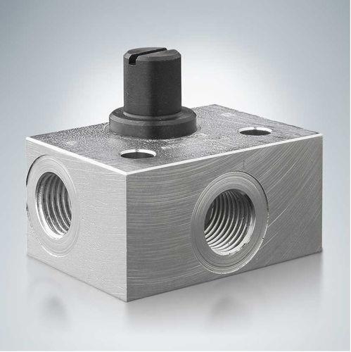 vanne à commande hydraulique / de réduction de pression / pour huile / compacte