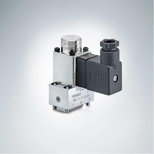 vanne proportionnelle / à piston / à commande hydraulique / de réduction de pression