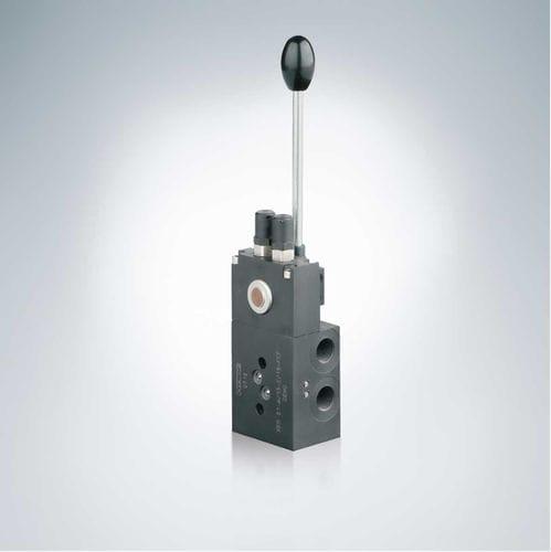 vanne manuelle / à commande hydraulique / de réduction de pression / pour huile