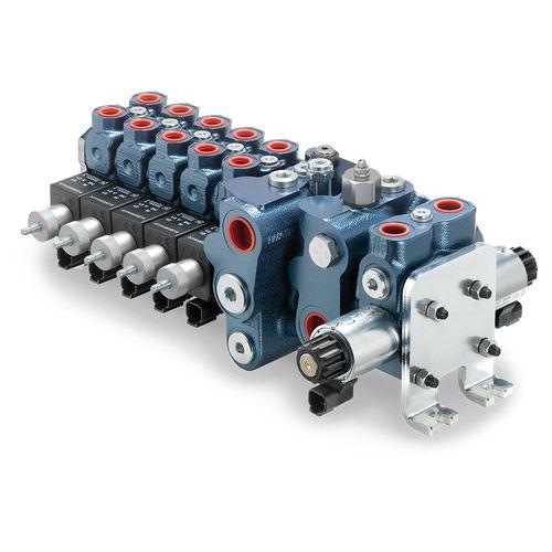 manifold multivoie / en métal / modulaire / hydraulique