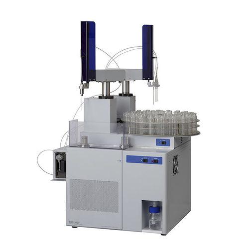 analyseur élémentaire / de gaz de combustion / d'eau / de carbone