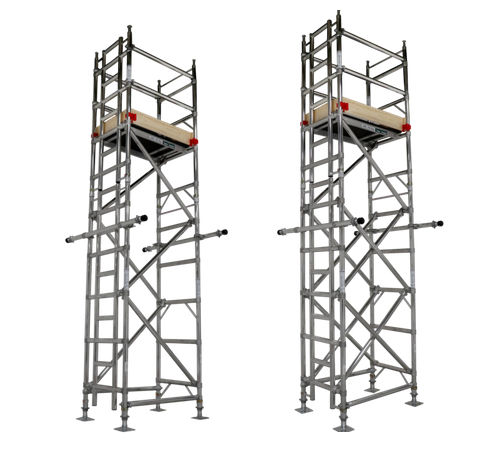 tour d'échafaudage mobile / modulaire / de façade
