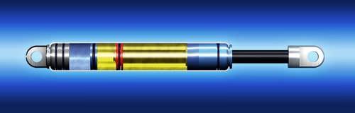 amortisseur de choc / hydraulique / pour moteur / à piston flottant