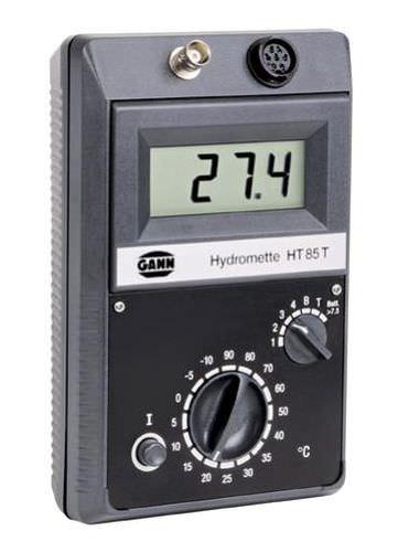 humidimètre pour le bois / pour matériaux de construction / avec thermomètre