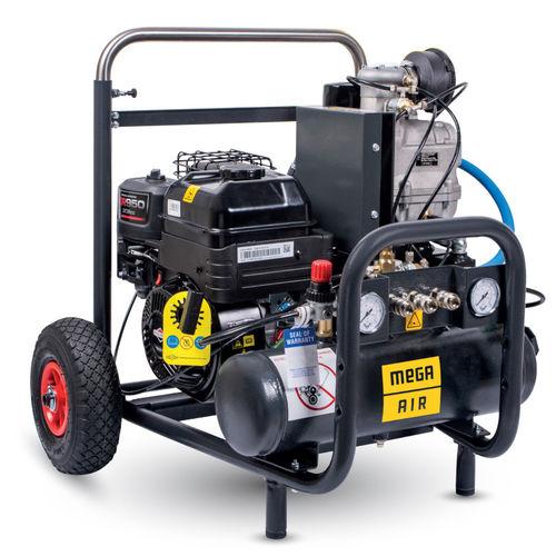 compresseur à entraînement direct / d'air / sur roulette / essence