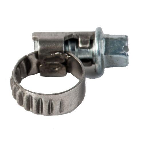 collier de serrage en acier inoxydable / à vis sans fin / à bande