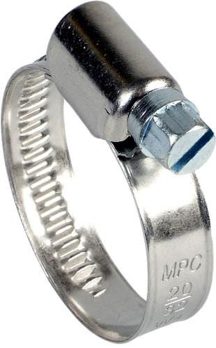collier de serrage en acier inoxydable / à vis sans fin