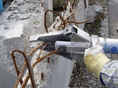 cisaille de démolition hydraulique