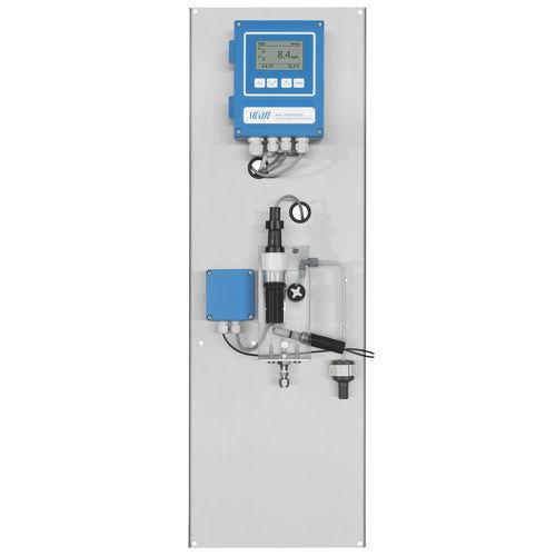 analyseur d'eau / d'hydrogène / de concentration / à intégrer