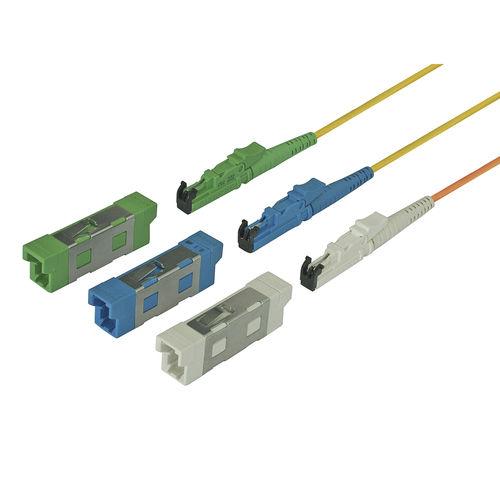 connecteur optique / de données / de fibre optique / type E2000