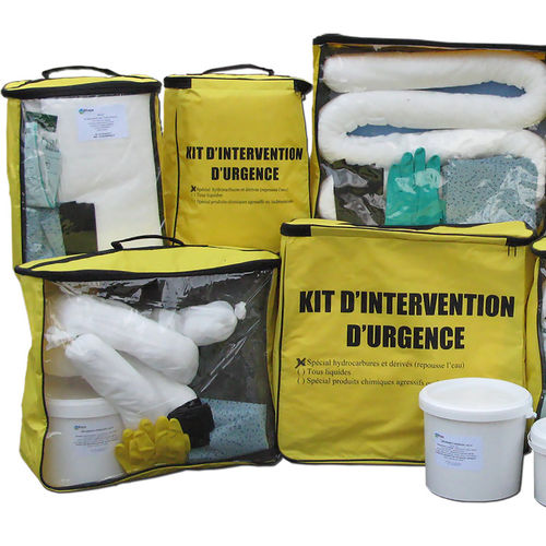kit d'urgence anti-pollution chimique - DIFOPE
