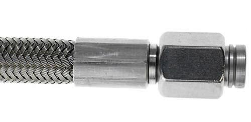 tuyau flexible pour l'eau / haute température / en PTFE / résistant aux produits chimiques