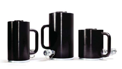 vérin hydraulique / à simple effet / haute pression / pour applications de levage